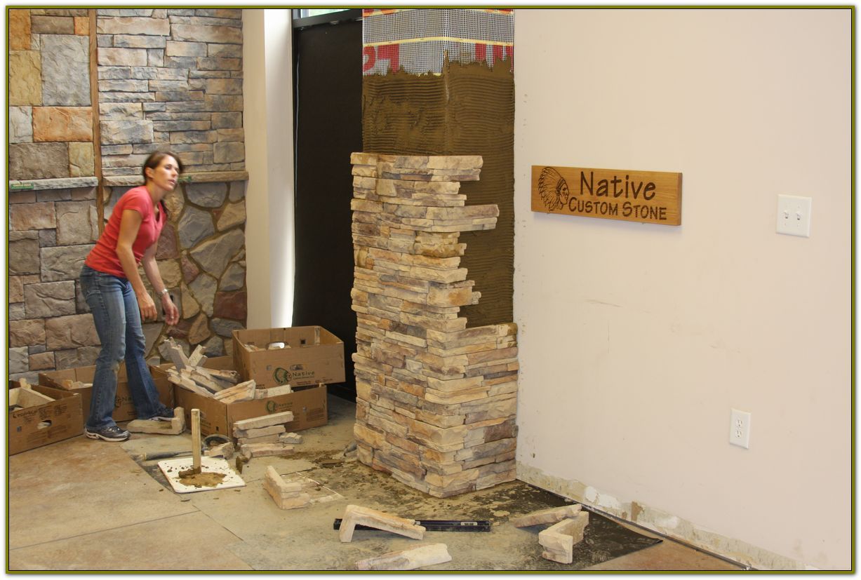Stone veneer panels can be a weekend project native custom stone heres why stone veneer panels work as a great diy solutioingenieria Image collections